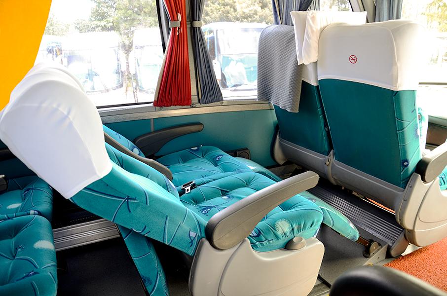 Ônibus G6 LD - Interno_Apoio de pernas